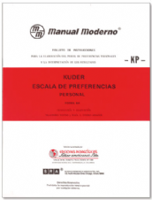 KP ESCALA DE PREFERENCIA PERSONAL KUDER. Manual Moderno